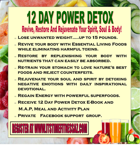12 DAY POWER DETOX